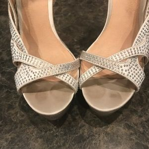 DSW Shoes - Perfect silver Pump